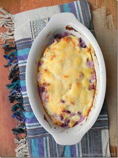 Purple Cauliflower and Potato Gratin