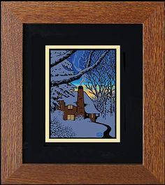 Fair Oak Workshops - Contemporary Arts & Crafts Furnishings and Accessories [Laura Wilder's Bestas Framed mini Giclee Prints]