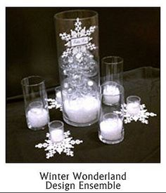 1000 Ideas About Snowflake Centerpieces On Pinterest Winter Wonderland Decorations Glitter