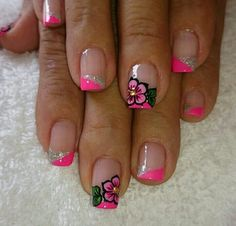Pedicure Designs, Nail Designs, Nail Tips, Nail Ideas, Cute Nail Art, Spring Nails, Beauty Hacks, Beauty Tips, Toe Nails