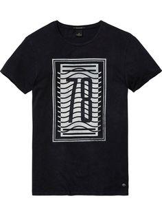 Monochrome T-Shirt | T-shirts ss | Men Clothing at Scotch & Soda