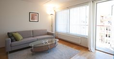 If you looking to rent apartments with three bedroom and panoramic views of Oslo, then Bjørvika Apartments is the right place for you. 3 Bedroom Apartment, Rental Apartments, Oslo, Couch, Furniture, Home Decor, Settee, Decoration Home, Sofa