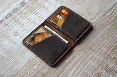 Wallets for men Front Pocket Design Minimalist от Handor на Etsy