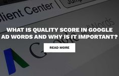Check out our blog to discover what you need to know about quality scores and how to improve them. http://exceleratedigital.com/quality-score-google-adwords-important/