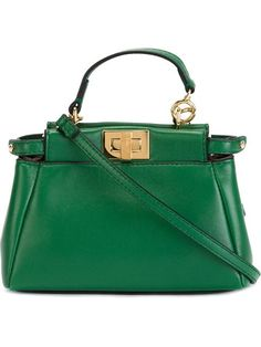 """Comprar Fendi bolso tote micro """"Peekaboo"""" en Loschi from the world's best independent boutiques at farfetch.com. Shop 300 boutiques at one address."""