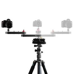 70cm Portable Camera Track Slider Cameras Smartphone DSLR ILDC with Extends Up to 4x Distance