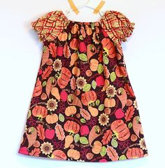 Peasant Dress Pattern (size 12 mo to 10 yr)