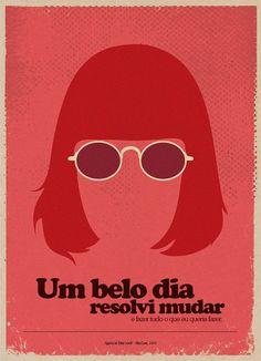 Apaixone-se por estes pôsteres minimalistas de grandes artistas brasileiros