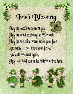IRISH BLESSING: