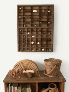 nature shelf – rocks and knick knacks, kids room, wood furniture, We are want to say thanks if you like to share this post to another people via you. Natural Wood Furniture, Diy Holz, Kids Wood, Nursery Furniture, Wood Nursery, Furniture Dolly, Kid Spaces, Cheap Home Decor, Sweet Home