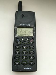 Phone in good condition.Package included:PhoneBattery (maybe need to replace cells)Charger Some of countries i cannot send the battery. Old School Phone, Sony Phone, Retro Phone, Dog Barking, Fire Engine, Calculator, Vintage Designs, Tech, Memories