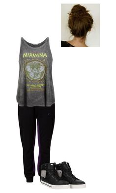 """Lazy"" by shaila5853 ❤ liked on Polyvore featuring Only Play, Prince Peter and Armani Jeans"
