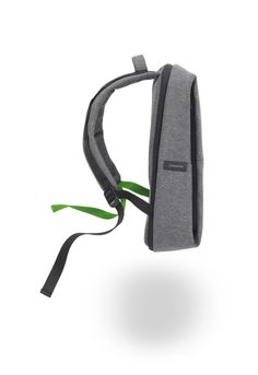 Rhine Flat Backpack by Côte&Ciel for Evernote. Mindful Minimalism. Negotiate crowded commutes and cramped airplanes with optimal organization and impeccable manners. With its clever organization and slim profile, the Evernote Flat Pack by Côte&Ciel makes space for what you need while maintaining a polite distance from the people around you.