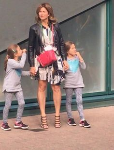 Roger Federer's twin daughters and wife Mirka