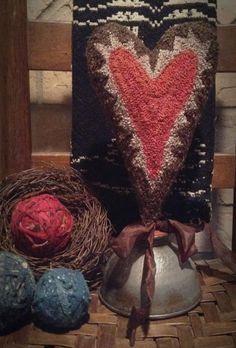 My Old Crow Primitives | Primitive Handmades Mercantile...Punch needle...