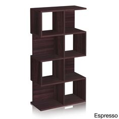 Malibu 4-shelf Eco-friendly zBoard Bookcase and Storage Shelf