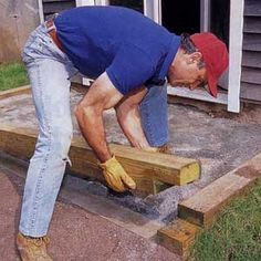 how to lay a brick patio :)