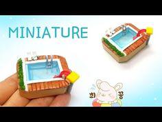 미니어쳐 아이스크림 (맥도날드 레인보우 와플콘) 만들기 Miniature McDonald's cream cones - YouTube