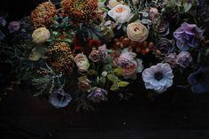 Sarah Ryhanen photography and artwork. Dutch Golden Age, Dark Flowers, Flower Designs, Floral Wedding, Floral Arrangements, Floral Design, Floral Wreath, Thanksgiving, Wallpaper