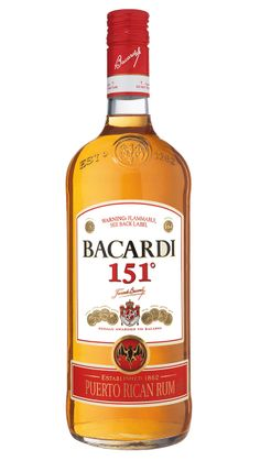 Bacardi 151 Proof | A Definitive Ranking Of Terrible College Party Drinks