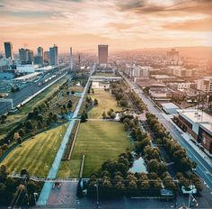 Our beautiful city. Picture credits go to @dyoungblood71 on Instagram. Birmingham Alabama, Picture Credit, Railroad Tracks, Sunrise, Park, City, Pictures, Beautiful, Instagram