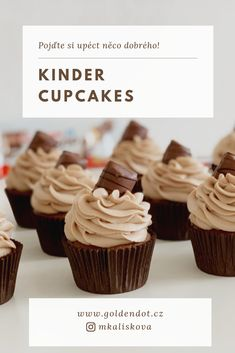 Cupcakes, Tiramisu, Muffins, Deserts, Food And Drink, Sweets, Cookies, Baking, Recipes