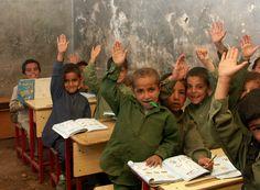 Kids in the school