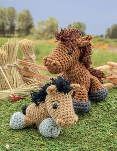 Crochet a Farm: 19 Cute-as-Can-Be Barnyard Creations horse & pony