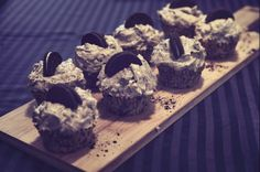 Cookies and cream cupcakes! Filled with oreos in both the cake and icing, this cupcake is so delicious!