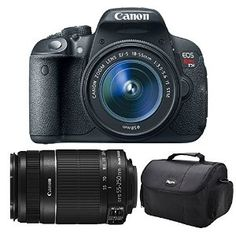 Canon EOS Rebel T5i Digital SLR Camera & EF-S 18-55mm IS STM Lens with Canon EF-S 55-250mm f/4.0-5.6 IS II Zoom Lens  Canon $759.00