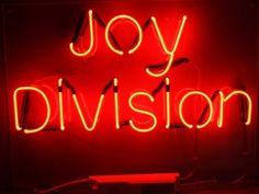 Joy Division neon | Neon Signs
