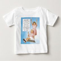 Insanity- expecting children to listen shirts