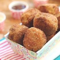 A kid friendly meatball recipe based on everybody's favorite drive thru chicken nuggets that is low carb, gluten free, and dairy free!