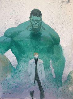 #Hulk #Fan #Art. (INCREDIBLE HULK ORIGINAL FULL COLOR PAINTING) By: ESAD RIBIC. ÅWESOMENESS!!!™ ÅÅÅ+