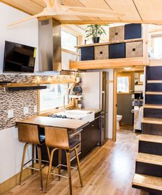 Iceland-inspired tiny house ships flat-packed for under $50K ...