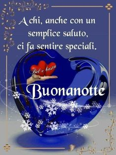 Belle immagini buonanotte (27) - BuongiornoATe.it Good Night, Christmas Bulbs, Dolce, Good Morning Quotes, Nighty Night, Good Night Wishes, Good Night Greetings, Pretty Images, Happy Brithday