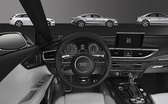 Audi S7 with Bang & Olufsen Sound System