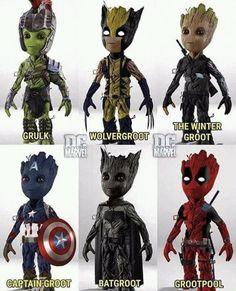 I am groot. I am groot. I am groot! Marvel Dc Comics, Marvel Avengers, Marvel Jokes, Marvel Funny, Marvel Heroes, Baby Marvel, Deadpool Funny, Baby Groot, Marvel Universe