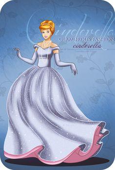 Glamorous Fashion - Cinderella by *selinmarsou on deviantART