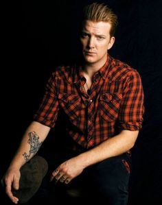 Josh Homme. My love for this man is extremely unhealthy.