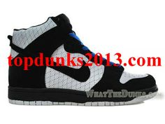 online store a71a9 d5abc Premium White Black Nike Dunk High Top for Sale