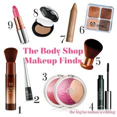 Body Shop Makeup Board