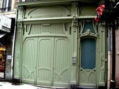 Douai-a green art nouveau shop | Flickr - Photo Sharing!