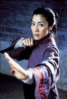 Michelle Yeoh in Crouching Tiger, Hidden Dragon, Wing Chun (personal fav!), Supercop, and a Bond girl in Tomorrow Never Dies Kung Fu Martial Arts, Chinese Martial Arts, Martial Arts Movies, Martial Arts Women, Martial Artists, Michelle Yeoh, Jason Scott Lee, Samurai, Kung Fu Movies