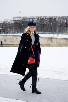 Street Style   Paris Couture SS13