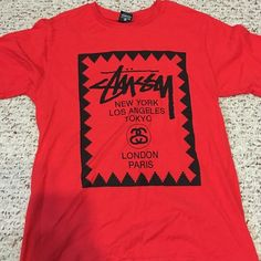 Stussy t-shirt Never worn, new without tags Stussy Tops Tees - Short Sleeve