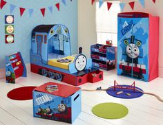 Thomas the Tank Engine StarTime Toddler Bed available from @Veryhq