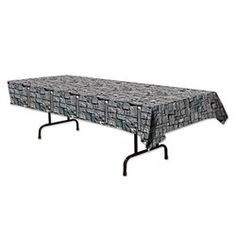 Stone Wall Tablecover - PartyCheap