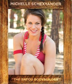 """Michelle Schexnayder - """"The Bayou Bodybuilder"""""""