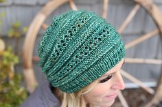 A fun, quick knit. Interesting to knit, cute to wear.